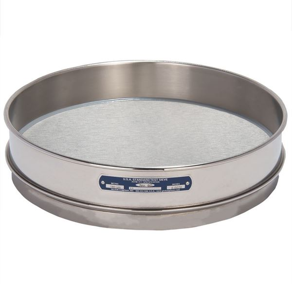 """12"""" Sieve, All Stainless, Intermediate Height, No. 100"""