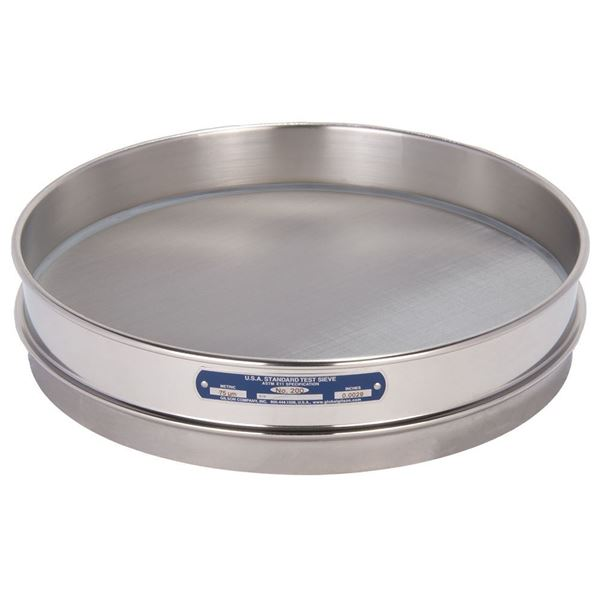 """12"""" Sieve, All Stainless, Half Height, No. 200"""