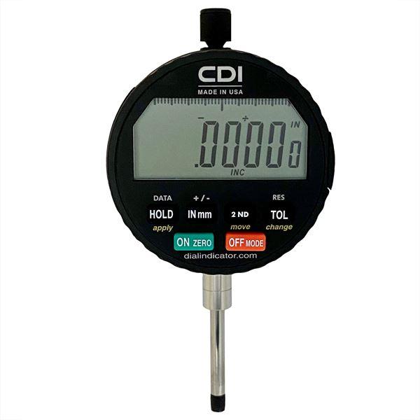 Digital Dial Indicator - 0.6 x 0.0001in (Range x Resolution)