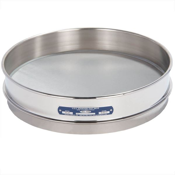 """12"""" Sieve, All Stainless, Intermediate Height, No. 450"""