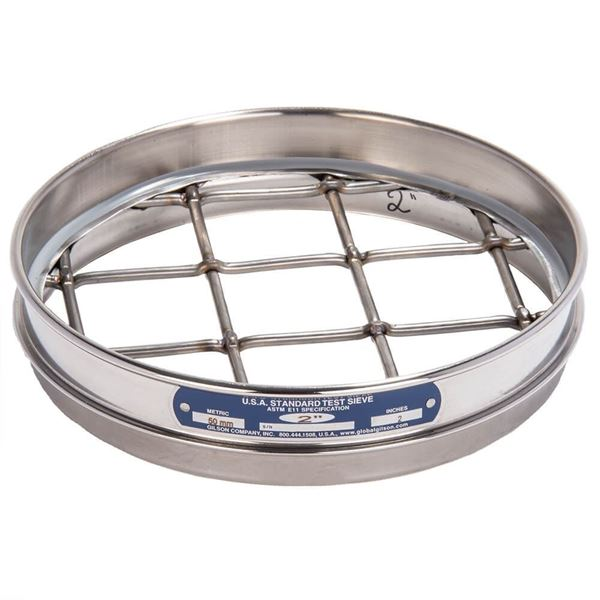 """8"""" Sieve, All Stainless, Half Height, 2.12"""""""