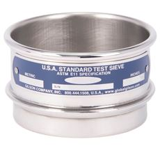 """3"""" Sieve, All Stainless, Half Height, No. 3-1/2"""