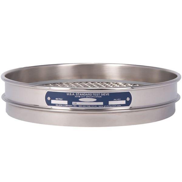 """8"""" Sieve, All Stainless, Half Height, 7/16"""""""